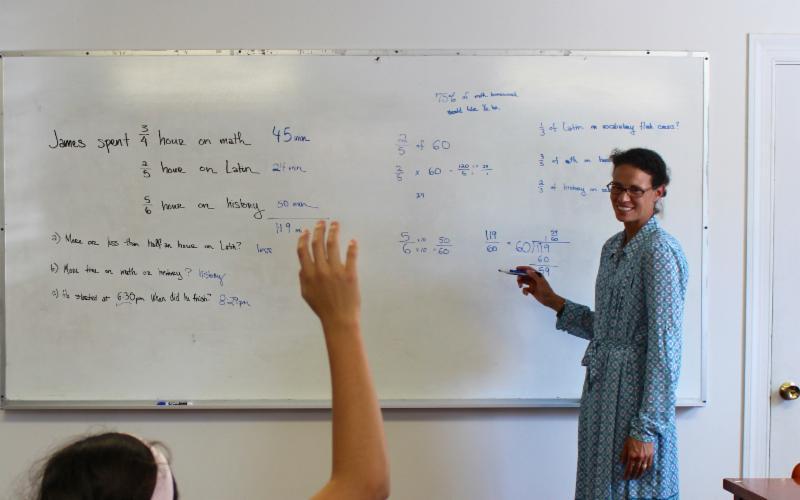 Summer Math Enrichment at CNA