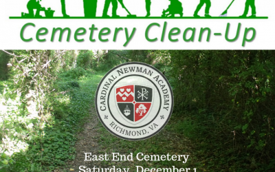 Cemetery Cleanup with the Riverhawk Service Club